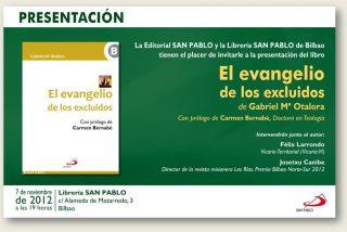 Presentación de 'El evangelio de los excluidos' de Gabriel Mª Otalora