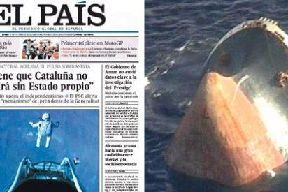 El País 'reflota' el fantasma del 'Prestige' a seis días de las elecciones gallegas
