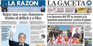 La derecha mediática no se aclara para valorar los recortes de Rajoy