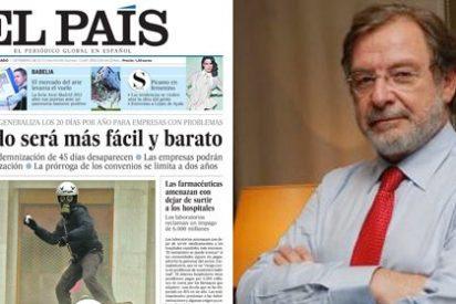 """Juan Luis Cebrián tensa al límite la crisis del Grupo PRISA: """"El País empieza y acaba conmigo"""""""