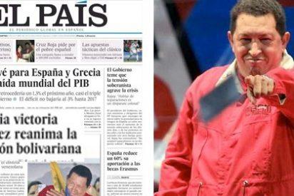 """El País se alegra de la victoria de Chávez porque """"reanima la revolución bolivariana"""""""