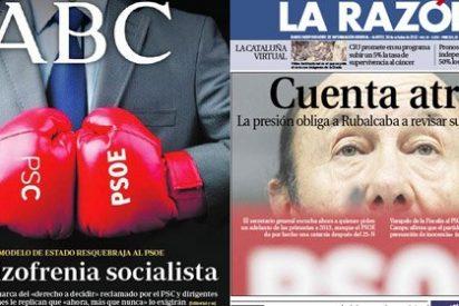 El PSOE es un ring de boxeo