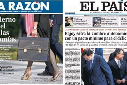 La Razón 'viste' de triunfo e imposición el apaño entre Rajoy y las autonomías