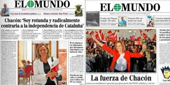 ¿Volverá Pedrojota a gafar las expectativas y ambiciones políticas de Carmen Chacón?
