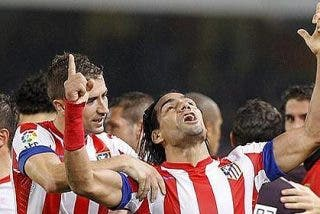 Falcao y el Atlético de Madrid amenazan al Barça con su mejor racha desde 1992