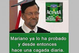 Administran en Twitter a Mariano Rajoy una ración de yogures 'Activia'
