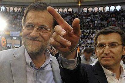 """Mariano Rajoy: """"Si otros hubieran hecho como Alberto Núñez Feijóo no estaríamos así"""""""