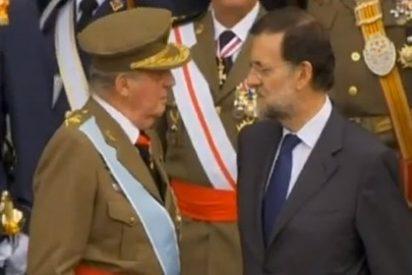 ¿A quién iba dirigida la bronca del Rey a Rajoy en el acto de la Hispanidad?