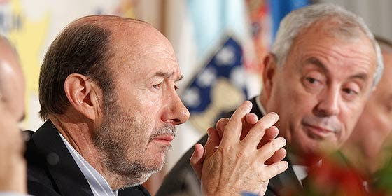 Rubalcaba y Pachi Vázquez no logran llenar el mitin central de La Coruña