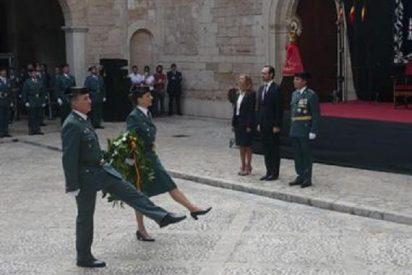 La Guardia Civil celebra su patrona destacando el aumento de detenciones