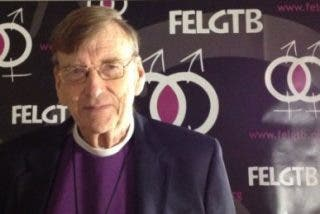 """John Shelby Spong: """"Llegará un día en que la Iglesia se arrepentirá de su comportamiento con los homosexuales"""""""