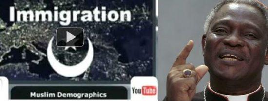 Turkson inflama el Sínodo con un vídeo alarmista sobre la expansión del Islam en Europa
