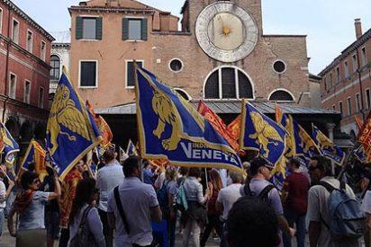 Venecia sigue la estela catalana y clama por la independencia de Italia