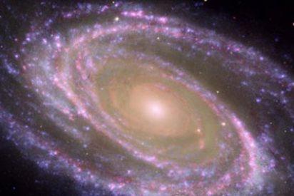 La Vía Láctea está envuelta en una gigantesca nube de gas ardiente