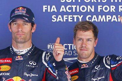 Vettel gana en Corea y ya es líder del Mundial con 6 puntos más que Alonso
