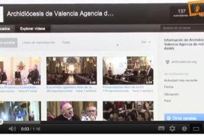 El canal YouTube del Arzobispado de Valencia supera las 200.000 visitas