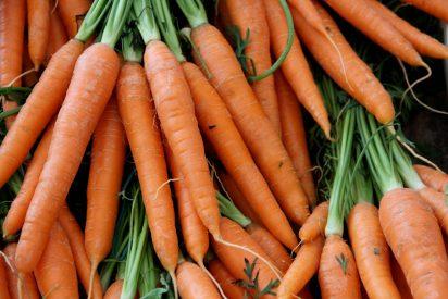 Sopita de pomelo y zanahoria tibia