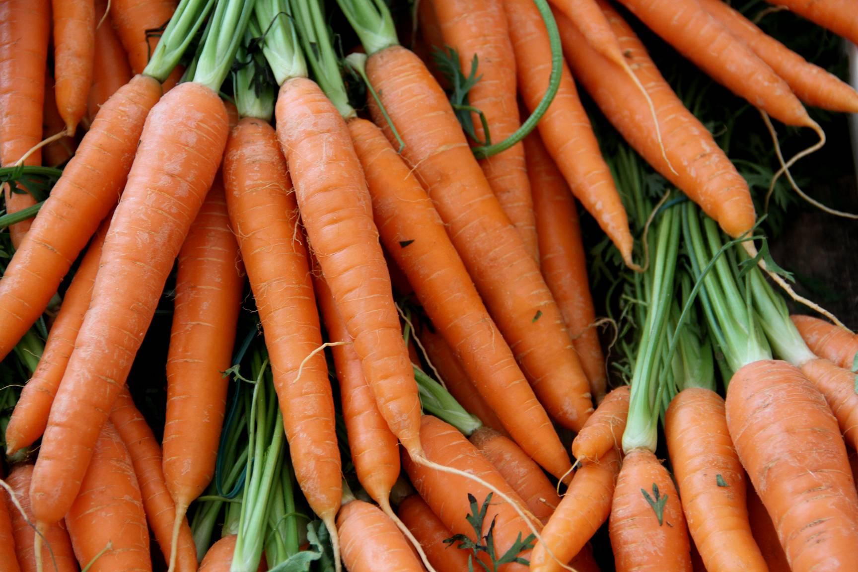 zanahorias fuentes de betacaroteno