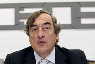 """CEOE también ve """"brotes verdes"""" y rebaja al 1,4% la caída del PIB español en 2012"""