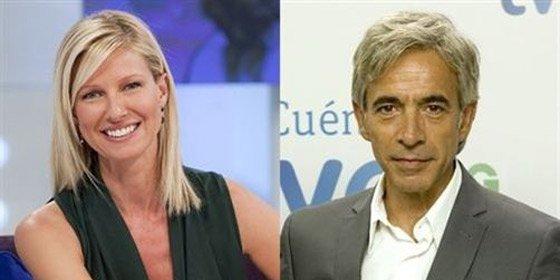 Anne Igartiburu e Imanol Arias presentarán las campanadas en TVE