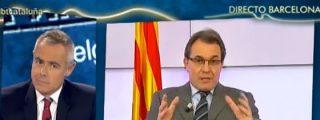 """Artur Mas: """"Si no nos dejan el referendum sacaremos ley de consultas en el parlamento catalán"""""""