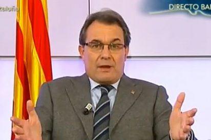 """Artur Mas: """"Ni los tribunales ni la Constitución pararán el proceso catalán"""""""