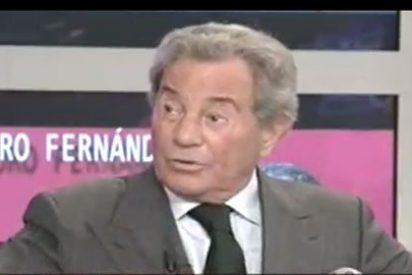 """Arturo Fernández: """"No he visto a gente más fea que en las manifestaciones"""""""