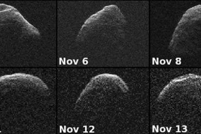 Un asteroide, captado en gran resolución por un radar de la NASA