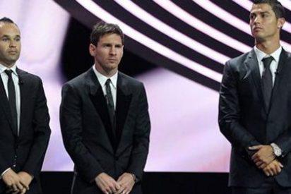 Messi, Cristiano Ronaldo e Iniesta lucharán por el Balón de Oro