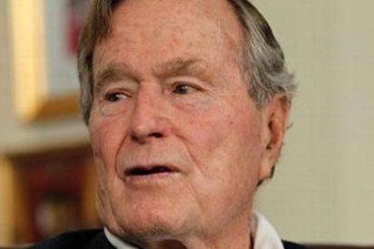 El expresidente George H.W. Bush, ingresado por bronquitis