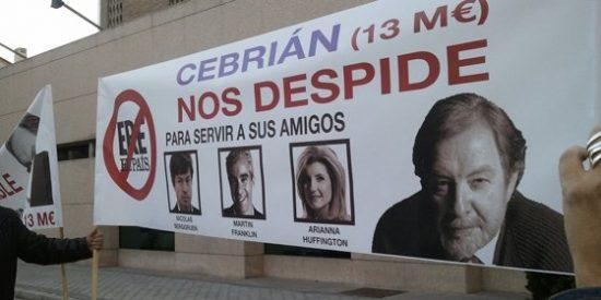 Moreno les recuerda a sus redactores díscolos que cuestan de media a El País 88.000 euros