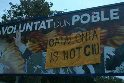 'Catalonia is not CiU', el lema que triunfa en la Red... y en el mundo real