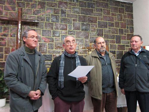 """Curas aragoneses: """"Las medidas del gobierno son antievangélicas"""""""
