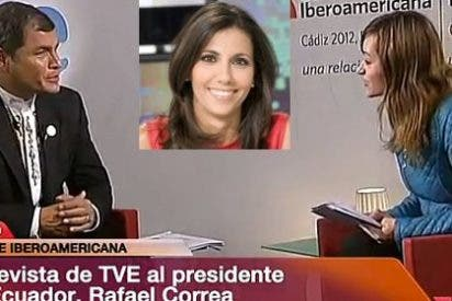 """Rafael Correa se cachondea en una entrevista con TVE antes de la Cumbre Iberoamericana de Cádiz: """"¿Qué pasó con Anita Pastor?"""""""