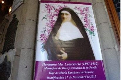Crescencia Pérez fue proclamada beata