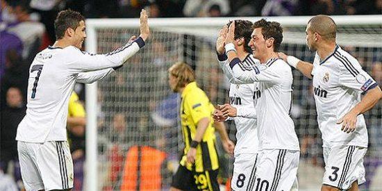 El Real Madrid empata en el Santiago Bernabéu con el Dortmund... y gracias
