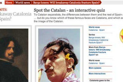 'Descubre al catalán', el burlesco juego online de 'The Guardian' que parodia el separatismo