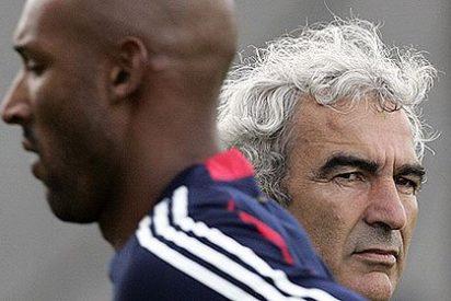 """Nicolas Anelka a Raymond Domenech: """"Maricón, haz el equipo tú solo, yo me largo"""""""