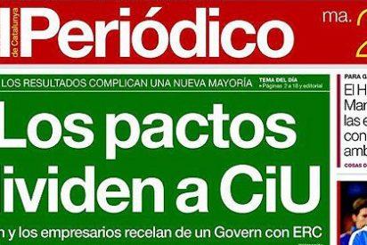 """'El Periódico' se postula como el diario de la """"Cataluña real"""" y sacude un palo a 'La Vanguardia'"""