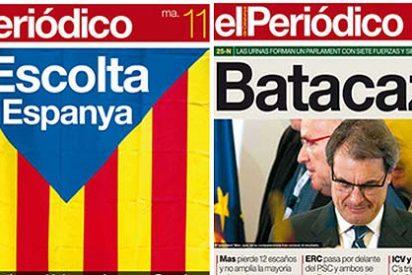 'La Vanguardia' y 'El Periódico' se caen del caballo independentista