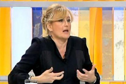 """Elisa Beni: """"¡Pero quién se cree que Aznar llamó a la Casa Real para que buscaran su cuaderno azul!"""""""