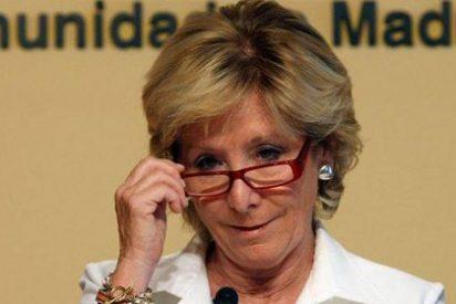Esperanza Aguirre afirma que se podría prohibir la huelga general del 14-N por su