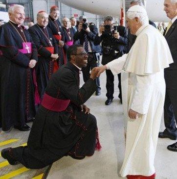 El papa nombra nuncio en Nicaragua al nigeriano Fortunatus Nwachukwu