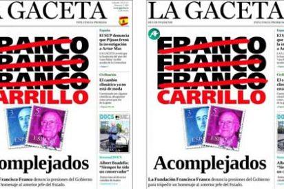 La portada de 'La Gaceta' sobre Franco que no gustó en las redes sociales