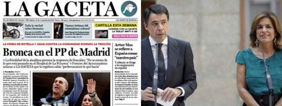 Bronca en el PP de Madrid: Botella-González reeditan los desaires de Aguirre-Gallardón