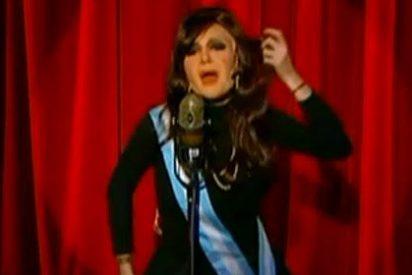 """""""Argentinos y argentinas..."""" Vea a la más divertida imitadora de Cristina Fernández de Kirchner"""