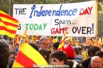Un vídeo separatista promueve el derribo del ¿muro de Cataluña? con imágenes de la caída del Muro de Berlín