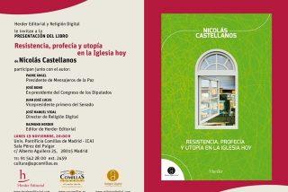 Nicolás Castellanos presenta su nuevo libro