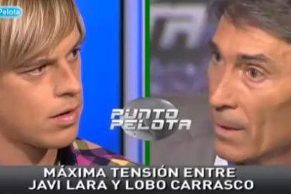 """Lobo Carrasco se enfrenta a Javi Lara, jugador del Alcoyano: """"No voy a consentir que venga un chico de 26 años a decirme según que cosas. Te pido que tengas respeto"""""""