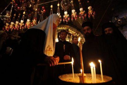 Patriarca de Moscú visita Belén
